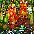 Pat O'Brien's Hurricanes Poster by Dianne Parks