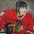 Patrick Kane Print by Brian Schuster
