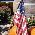 Patriotic Farm Stand Poster by Kimberly Perry