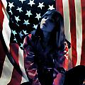 Patriotic Thoughts Print by David Patterson