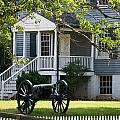 Peers House and Cannon Appomattox Court House Virginia Poster by Teresa Mucha
