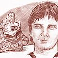 Pelle Lindbergh by Chris  DelVecchio