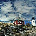 Pemaquid Lighthouse Poster by Alana Ranney