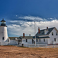 Pemaquid Point Lighthouse 4800 Poster by Guy Whiteley
