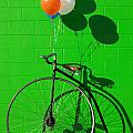 Penny farthing bike Poster by Garry Gay