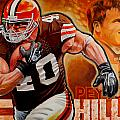 Peyton Hillis by Jim Wetherington