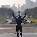 Philadelphia Champion - Rocky Poster by Bill Cannon