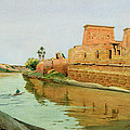 Philae on the Nile Print by Alexander West