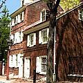 Philly Row House 2 Print by Paul Barlo