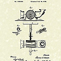 Phonograph 1878 Patent Art  Poster by Prior Art Design