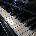 Piano Keys Print by Anthony Rapp