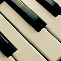 Piano Keys Print by dm909
