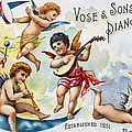 PIANO TRADE CARD, c1880 Poster by Granger