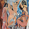 PICASSO DEMOISELLES 1907 Print by Granger
