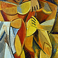 PICASSO: FRIENDSHIP, 1907 Print by Granger