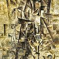 PICASSO: THE ACCORDIONIST Poster by Granger