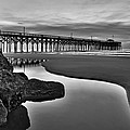 Pier Reflections Poster by Ginny Horton