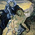 Pieta by Vincent van Gogh