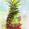 Pineapple Study Watercolor Print by Ginette Fine Art LLC Ginette Callaway