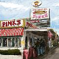 Pinks Print by Russell Pierce
