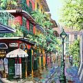 Pirates Alley Print by Dianne Parks