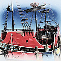 Pirates Ransom - Clearwater Florida Poster by Bill Cannon