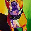 Pit Bull - Fifty Print by Alicia VanNoy Call