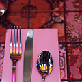 Place Setting Poster by sam bloomberg-rissman