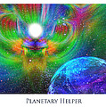 Planetary Helper Poster by Jeff Haworth
