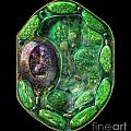 Plant Cell Poster by Russell Kightley