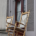 Plantation Rocking Chairs Print by Carol Groenen