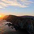 Point Reyes Sunset Poster by About Light  Images