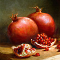 Pomegranates Print by Robert Papp