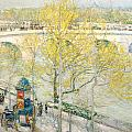 Pont Royal Paris Poster by Childe Hassam
