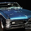 Pontiac GTO 2 Print by Wingsdomain Art and Photography