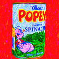 Popeye Spinach Poster by Wingsdomain Art and Photography