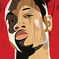 Portrait - Dwyane Wade Poster by Kevin Kocses