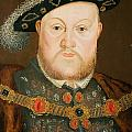 Portrait of Henry VIII Print by English School