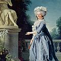 Portrait of Marie-Louise Victoire de France by Adelaide Labille-Guiard