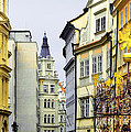 Prague - Walking in the footsteps of kings Print by Christine Till