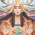 Pray For Unity Dream Of Peace Poster by Amy S Turner