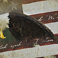 Praying For Our Country Poster by Kathy Jennings