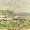 Preaching of St. Columba Iona Inner Hebridies Print by William McTaggart
