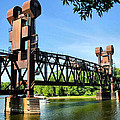Prescott Lift Bridge Print by Kristin Elmquist