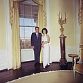 President And Jacqueline Kennedy Print by Everett