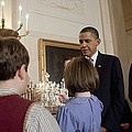 President And Michelle Obama Watch Print by Everett