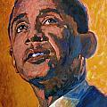 President Barack Obama by David Lloyd Glover