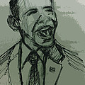 President Barack Obama Poster by William Winkfield