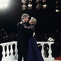 President Bill Clinton And Hillary Poster by Everett