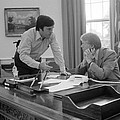 President Carter And His Chief Of Staff Poster by Everett